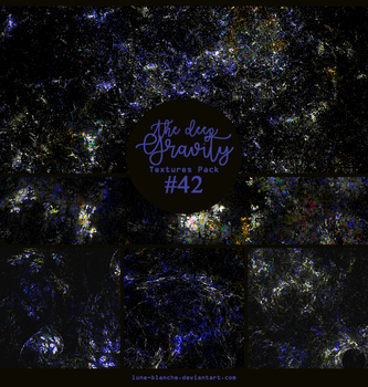 Textures pack #42 - The deep gravity by lune-blanche