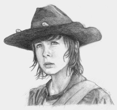 Carl Grimes by Pilly-Pat