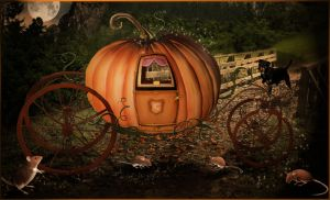 Cinderella's carriage..closer by cocacolagirlie