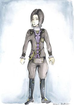 Outfit Design for Kuro by Blutkuss