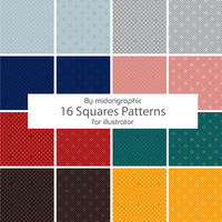 squares patterns by midorigraphic