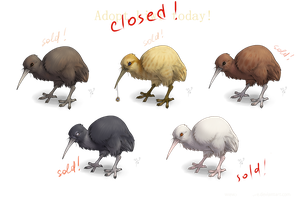 Kiwi point adoptables - CLOSED by Moonticore