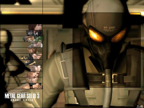 Metal Gear Wallpaper by Brendeth