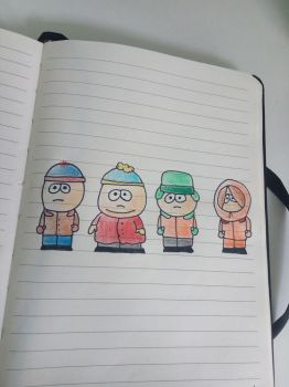 South park by ColoredButterfly