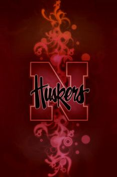 Huskers iPhone Wallpaper - RED by walexm311