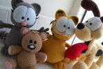 Garfield and Friends by aphid777