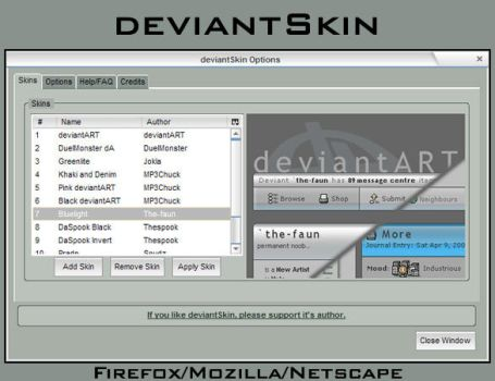deviantSkin by bluespeed9