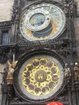 astronomical clock by ItsLaylaHere
