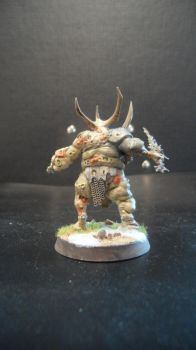 Nurgle herald Back by Dible