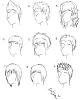 Awesome Deviantart More Like Male Anime Hair By Alicewolfnas Short Hairstyles For Black Women Fulllsitofus