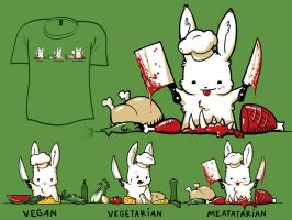 Woot Shirt - Meatatarian by fablefire
