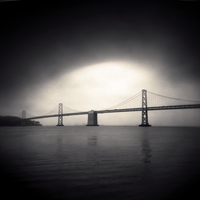 Foggy Bay Bridge by DenisOlivier