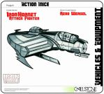 Action Mice Vehicle Concept Iron Hornet by stourangeau