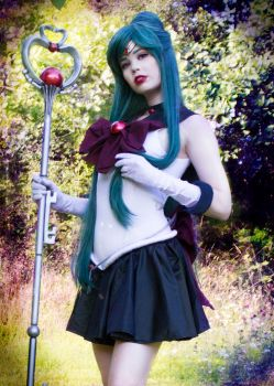 The Guardian of Time - Sailor Pluto Cosplay by TineMarieRiis