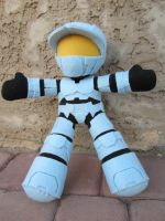 Halo Plush - Red vs Blue - Church by samanthawagner