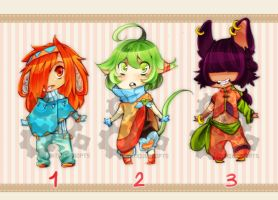 H: Auction! Adopt Batch 003 [CLOSED] by AntiqueAdopts