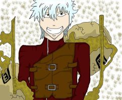 Gintama -  GintokiZGaara by thebrodcaster