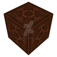 Element of Elders in cube form (textured) by Manroose