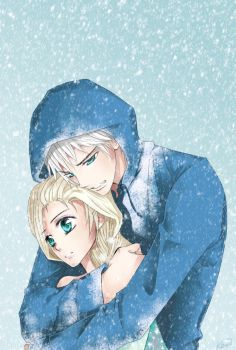 Jelsa (Jack X Elsa): Let it go. by KiriiGlumanda