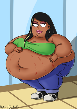 COMMISSION - Even Rounder Roberta 2 of 4 by ProfessorDoctorC