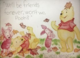 Winnie the Pooh and Piglet! by Liqen