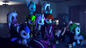 The movie night by SourceRabbit