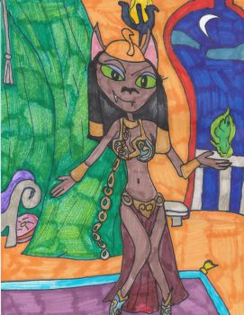 Mirage, The Slave by Millie-the-Cat7