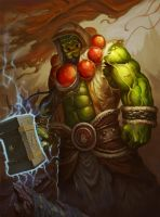 Thrall by noodleli