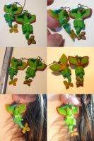 Flygon Earrings