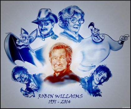 Rest In Peace - Robin Williams by LALASOSU2