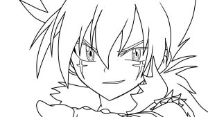 kyoya tategami - lineart. by darkviver on deviantart - Beyblade Metal Fury Coloring Pages