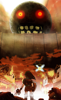 Attack On Majora Parody Picture by Shivery-Ao