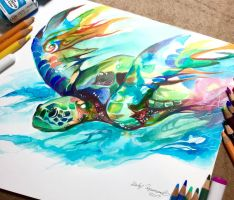 Sea Turtle by Lucky978