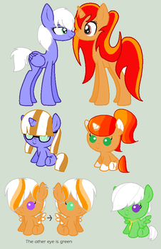 Firelove X Twisted ~ Foals ~ Closed.~ by lulumimibebe