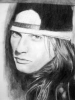 Finished Axl Rose by mslaurnq