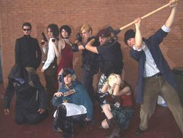 RE4 Group by SuperCosplay