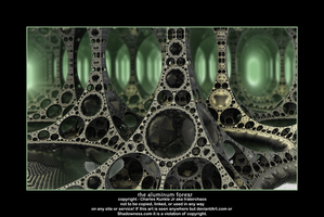 the aluminum forest by fraterchaos