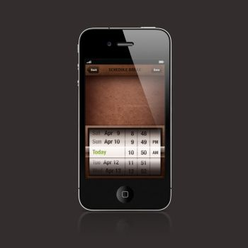 iPhone Date Picker by nextexile
