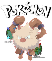 Champion Fighting Pokemon! - Primeape