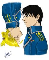Superior and subordnate by roy-mustang
