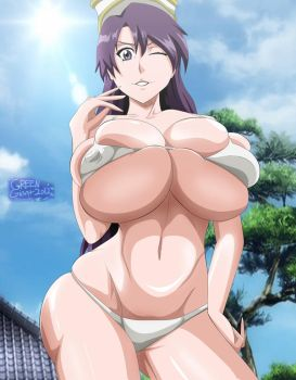 Bleach Bambietta basterbine bikini (NUDE DOWNLOAD) by greengiant2012