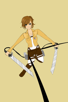 Attack on Titan - Lee by leevly