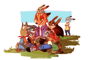 Bunnysitting by TurningTides