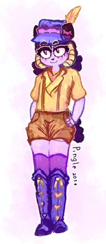 Fedora Gurl by Ping-Ether