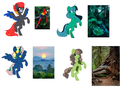 .:CLOSED:. [Rainforest Theme Adopts] by sylvieadopts