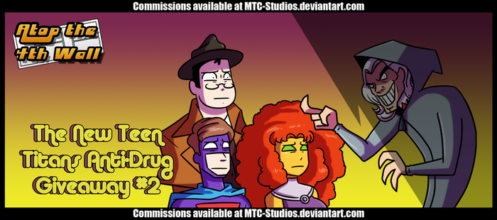 AT4W: The New Teen Titans Anti-Drug Giveaway #2 by DrCrafty