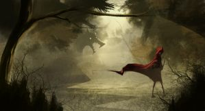 Red Riding Hood by RomeoEscape