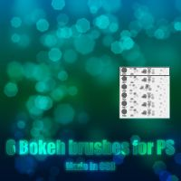 Bokeh Brushes by LucieG-Stock