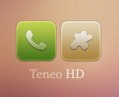 Teneo HD WIP Iphone Theme by ChikenArt