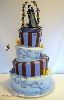 Corpse Bride Cake by pinkcakebox